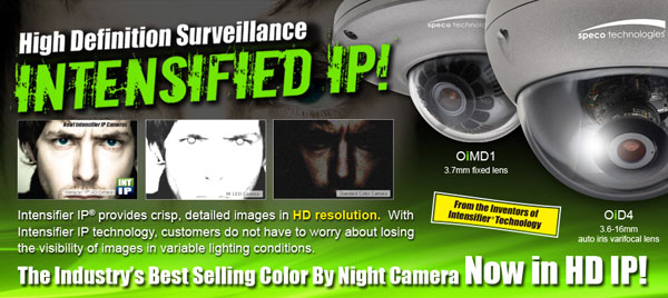 Intensifier Megapixel IP Camera